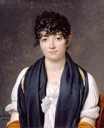 Jacques-Louis David   Portrait of Suzanne Le Peletier de Saint-Fargeau, 1804   Giclée Canvas Print