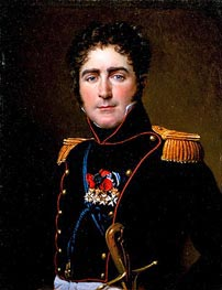 Jacques-Louis David | Portrait of Comte Henri-Amédée de Turenne | Giclée Canvas Print