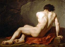 Jacques-Louis David   Patroclus (Academic Figure of a Man), undated   Giclée Canvas Print