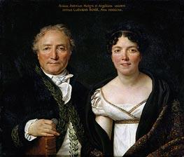 Jacques-Louis David   Mr. and Mrs. Antoine Mongez, 1812   Giclée Canvas Print