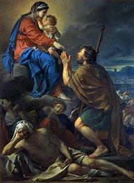 Jacques-Louis David   Saint Roch Pleading for the Victims of the Plague, 1781   Giclée Canvas Print