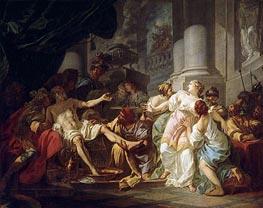 Jacques-Louis David   The Death of Seneca, undated   Giclée Canvas Print
