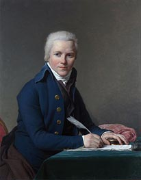 Jacques-Louis David | Portrait of Jacobus Blauw, 1795 | Giclée Canvas Print