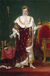 Jacques-Louis David   Emperor Napoleon I, 1807   Giclée Canvas Print