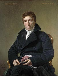 Jacques-Louis David | Emmanuel Joseph Sieyès, 1817 | Giclée Canvas Print