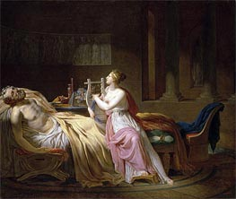 Jacques-Louis David   Homer and Calliope, 1812   Giclée Canvas Print