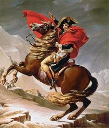 Jacques-Louis David   Napoleon Crossing the Alps, c.1800   Giclée Canvas Print