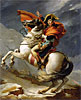 David - Napoleon Crossing the Alps on 20th May 1800 - Art Print / Posters