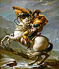 David - Napoleon Crossing the Alps at the St Bernard Pass, 20th May 1800 - Art Print / Posters