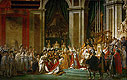 David - The Consecration of the Emperor Napoleon and the Coronation of the Empress Josephine by Pope Pius VII, 2nd December 1804 - Art Print / Posters