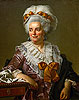 David - Genevieve Jacqueline Pecoul (the Painter's Mother-in-Law) - Art Print / Posters