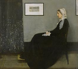Whistler's Mother, c.1834 by James McNeill Whistler | Giclée Canvas Print