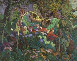 James Edward Hervey Macdonald | The Tangled Garden, 1916 | Giclée Canvas Print
