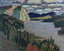James Edward Hervey Macdonald | The Solemn Land, 1921 | Giclée Canvas Print
