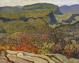 James Edward Hervey Macdonald | Forest Wilderness, 1921 | Giclée Canvas Print
