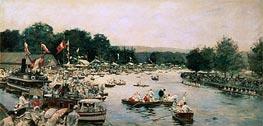 Joseph Tissot | Henley Regatta, c.1877 | Giclée Canvas Print