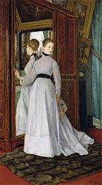 Joseph Tissot | L'Armoire, 1867 | Giclée Canvas Print
