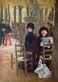 Joseph Tissot | Without a Dowry (Sans Dot), c.1883/85 | Giclée Canvas Print