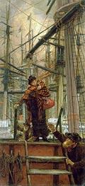 Joseph Tissot | Emigrants, c.1879 | Giclée Canvas Print