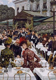 Joseph Tissot | The Artists' Wives, 1885 | Giclée Canvas Print