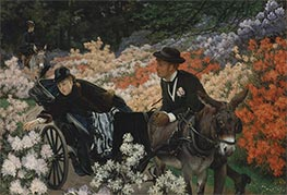 Joseph Tissot | The Morning Ride, c.1898 | Giclée Canvas Print