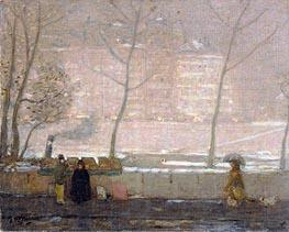 James Wilson Morrice | Quai des Grands-Augustins, c.1890/05 | Giclée Canvas Print