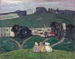James Wilson Morrice | Landscape, Tangiers, 1912 | Giclée Canvas Print