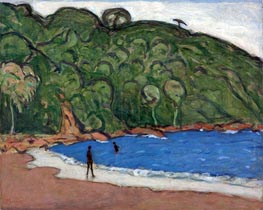 James Wilson Morrice | Landscape, Trinidad, 1921 | Giclée Canvas Print