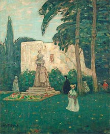 James Wilson Morrice | Avignon, The Garden, undated | Giclée Canvas Print