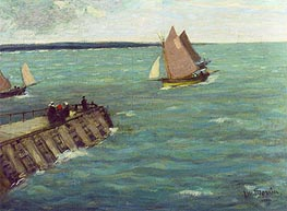 James Wilson Morrice | Sailing Boats, undated | Giclée Canvas Print