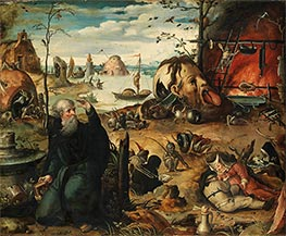 Jan Mandyn | The Temptation of St Anthony, c.1550 | Giclée Canvas Print