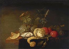 de Heem | Still Life with a Peeled Lemon, 1651 | Giclée Canvas Print