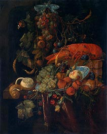 Still Life with Fruit and Lobster, undated by de Heem | Giclée Canvas Print