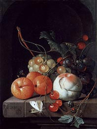 Still Life of Fruit, undated by de Heem | Giclée Canvas Print