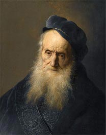 Jan Lievens | A Tronie of an Old Man, undated | Giclée Canvas Print