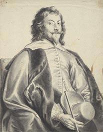 Jan Lievens | Portrait of Nicholas Lanier, undated | Giclée Paper Print