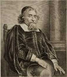 Jan Lievens | Ephraim Bonus, Jewish Physician, undated | Giclée Paper Print