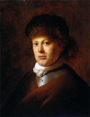 Jan Lievens | Portrait of Rembrandt van Rijn, c.1630 | Giclée Canvas Print