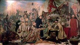 Jan Matejko | Bathory at Pskov, 1872 | Giclée Canvas Print
