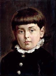 Jan Matejko | Portrait of a Young Boy, 1883 | Giclée Canvas Print