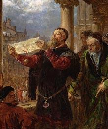Jan Matejko | Judgment on Matejka, 1867 | Giclée Canvas Print