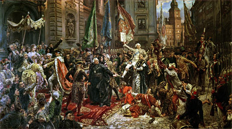 The Constitution of the 3rd May 1791, 1891   Jan Matejko   Painting Reproduction