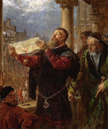 Judgment on Matejka, 1867 | Jan Matejko | Painting Reproduction