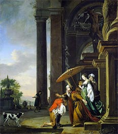 Jan Weenix | The Return of the Prodigal Son | Giclée Canvas Print