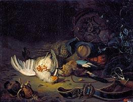 Jan Weenix | Still Life with Dead Birds | Giclée Canvas Print