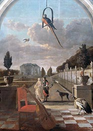 Jan Weenix | Park with House, c.1670/19 | Giclée Canvas Print