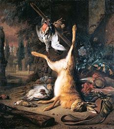 Jan Weenix | Dead Hare and Birds, 1687 | Giclée Canvas Print