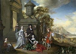 Jan Weenix | A Family Portrait, c.1670 | Giclée Canvas Print