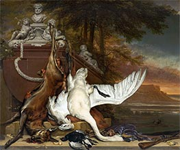 Dead Swan, c.1700/19 by Jan Weenix | Giclée Canvas Print