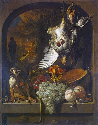 Still Life, undated | Jan Weenix | Painting Reproduction